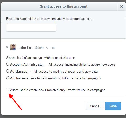 Twitter-Access